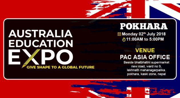 Australia Education Expo Pokhara August 2018