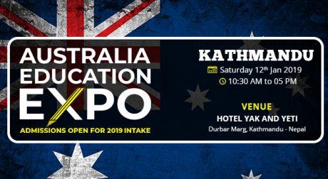 Australia Education Expo Kathmandu Jan 2019